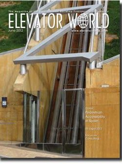 June 2012 NEC Article 620: Elevators, Part 2