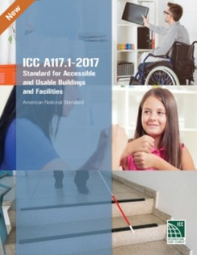 ICCA117.12017 Standard for Accessible and Usable Buildings and Facilities