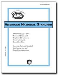 ANSI/ASSE A10.4-2007 PDF