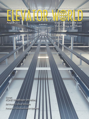 2013 August Metal Raceways in Elevator Work