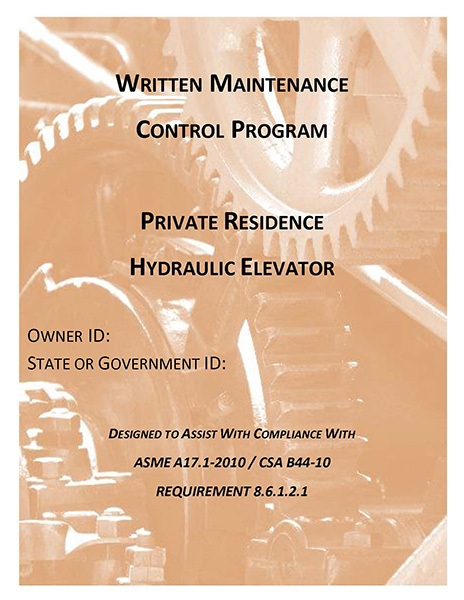 WMCPA17 HYDRAULIC PRIVATE RESIDENCE ELEVATORS