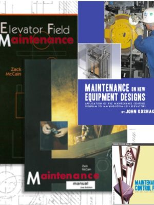 Elevator Maintenance Manual & Handbook Set